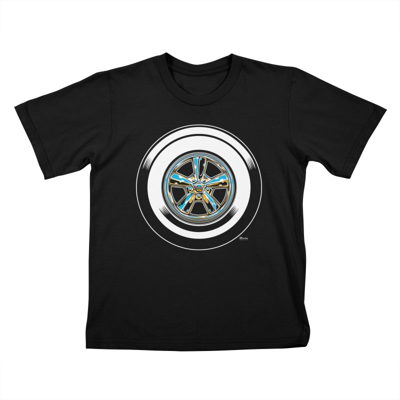 Wide Whites Kids T-shirt by EngineHouse13's Artist Shop