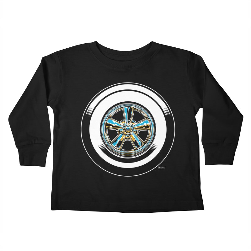 Wide Whites Kids Toddler Longsleeve T-Shirt by EngineHouse13's Artist Shop