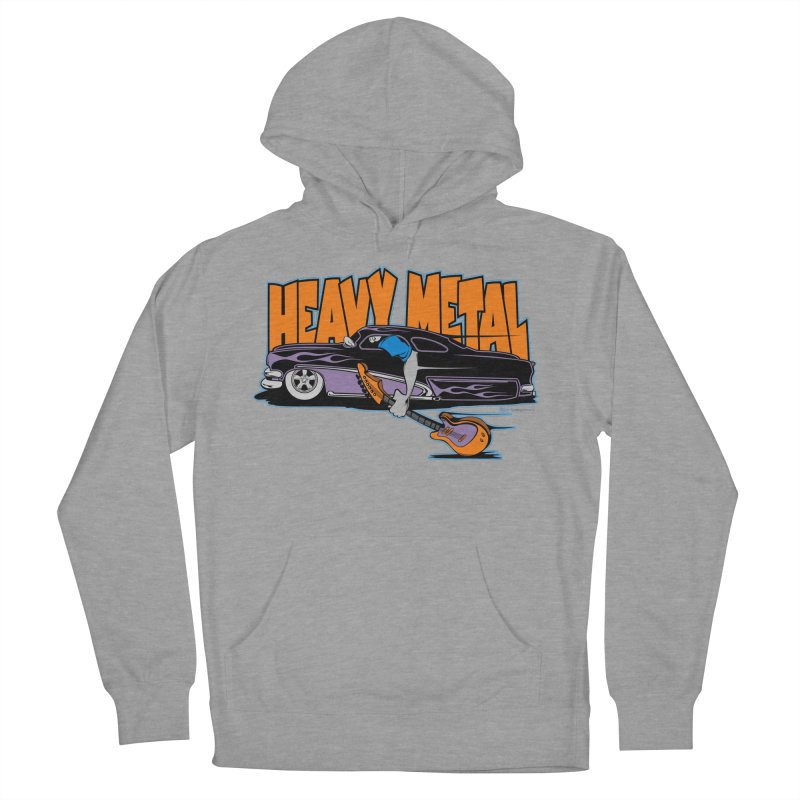 Heavy Metal Women's Pullover Hoody by EngineHouse13's Artist Shop