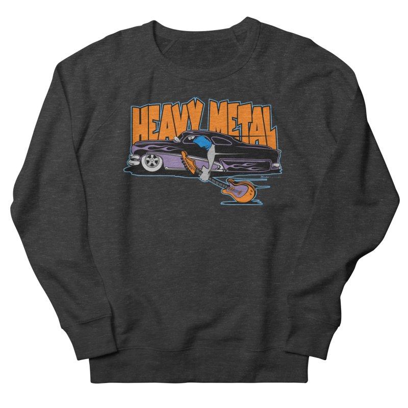 Heavy Metal Women's Sweatshirt by EngineHouse13's Artist Shop