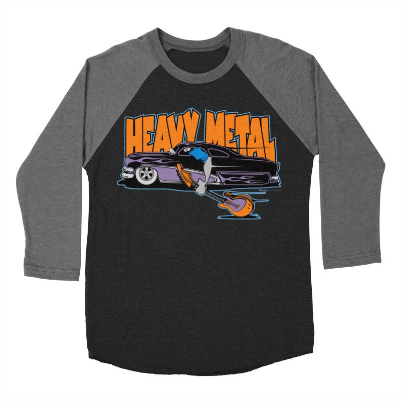 Heavy Metal Men's Baseball Triblend T-Shirt by EngineHouse13's Artist Shop