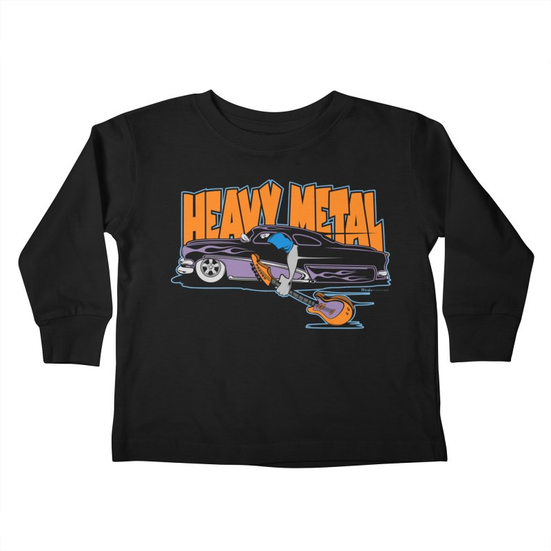Heavy Metal Kids Toddler Longsleeve T-Shirt by EngineHouse13's Artist Shop