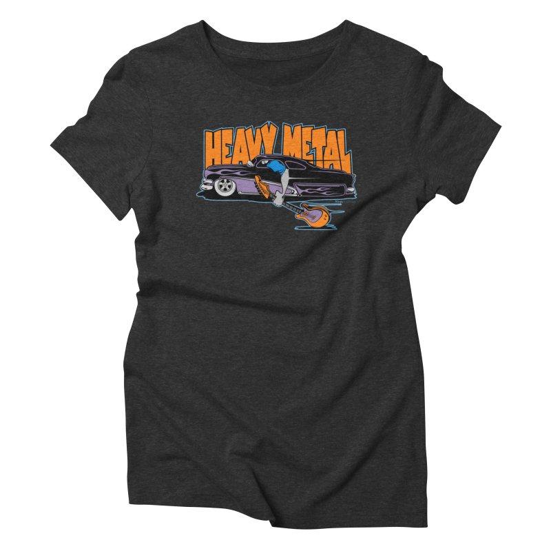 Heavy Metal Women's Triblend T-shirt by EngineHouse13's Artist Shop