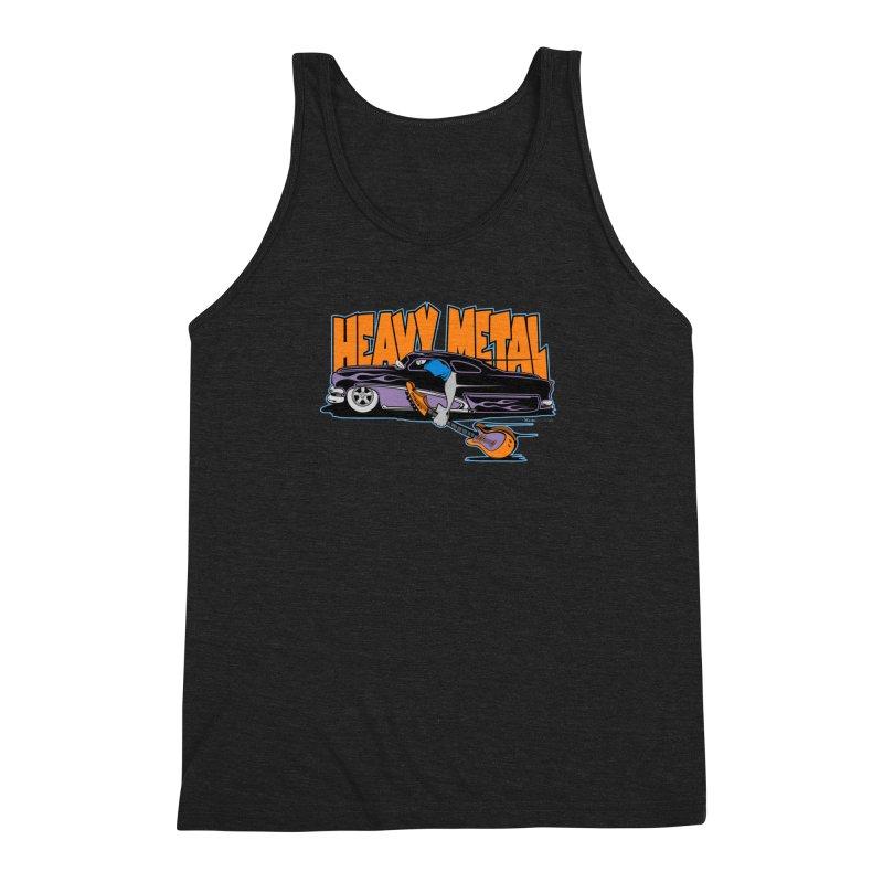 Heavy Metal Men's Triblend Tank by EngineHouse13's Artist Shop