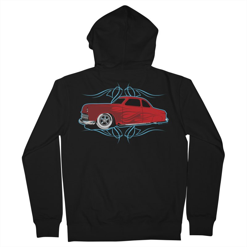 50 Kustom Women's Zip-Up Hoody by EngineHouse13's Artist Shop
