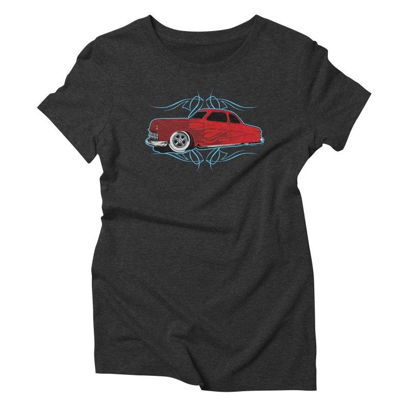 50 Kustom Women's Triblend T-shirt by EngineHouse13's Artist Shop
