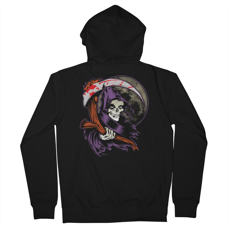 Reaper will Reap! Men's Zip-Up Hoody by EngineHouse13's Artist Shop