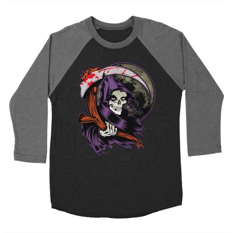 Reaper will Reap! Women's Baseball Triblend T-Shirt by EngineHouse13's Artist Shop