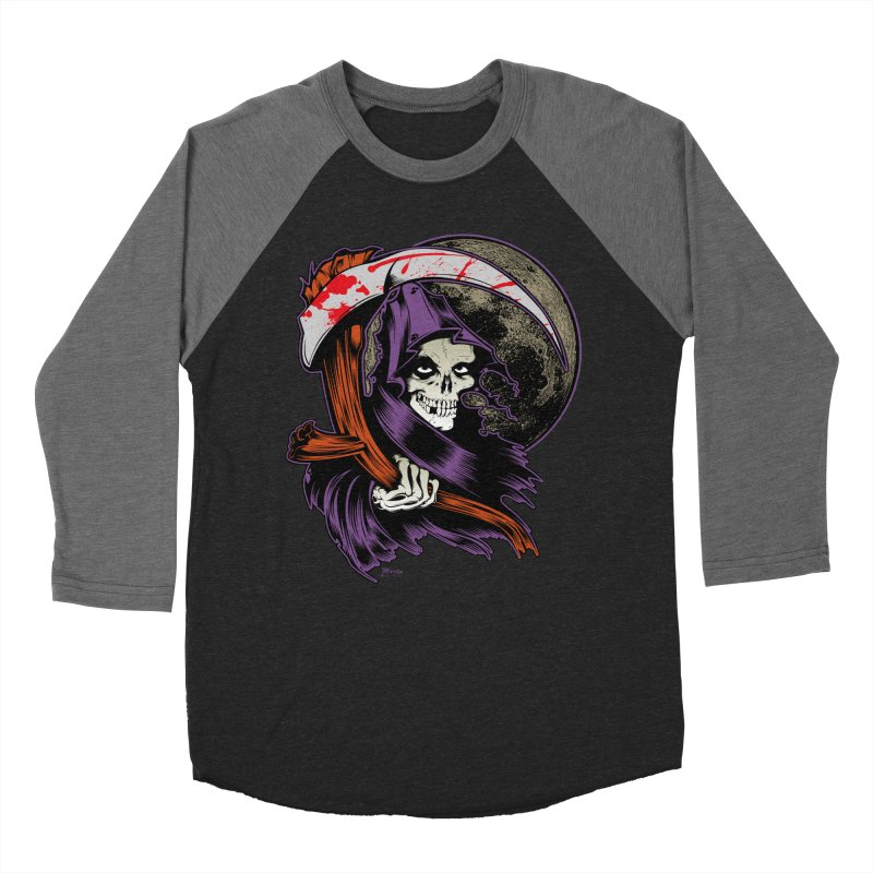 Reaper will Reap! Men's Baseball Triblend T-Shirt by EngineHouse13's Artist Shop