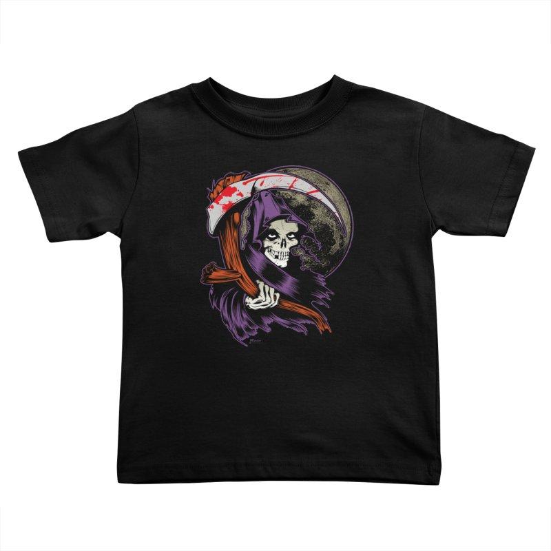 Reaper will Reap! Kids Toddler T-Shirt by EngineHouse13's Artist Shop