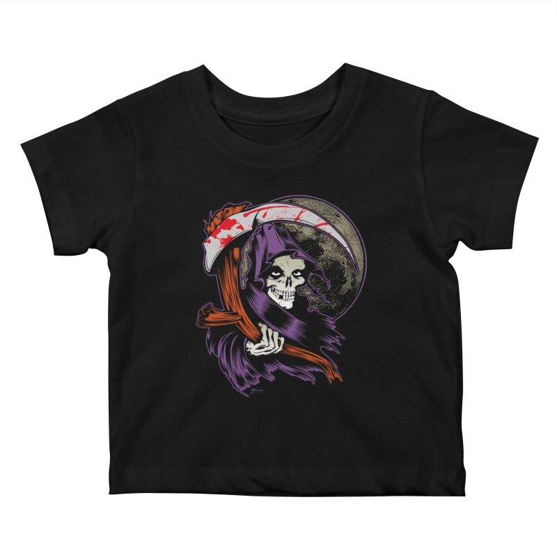 Reaper will Reap! Kids Baby T-Shirt by EngineHouse13's Artist Shop