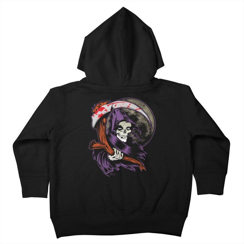 Reaper will Reap! Kids Toddler Zip-Up Hoody by EngineHouse13's Artist Shop