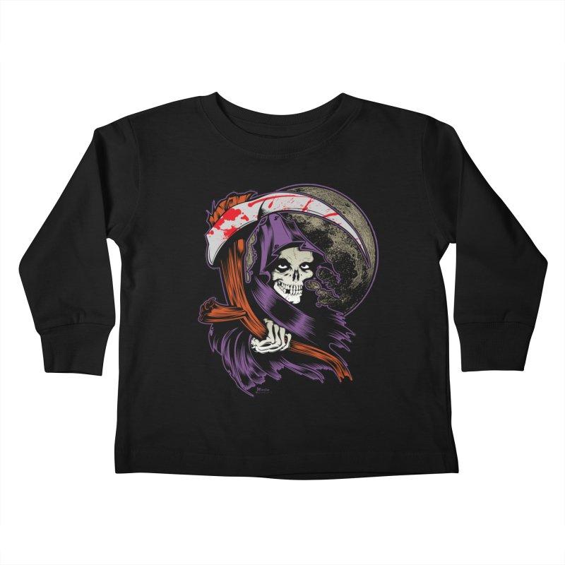 Reaper will Reap! Kids Toddler Longsleeve T-Shirt by EngineHouse13's Artist Shop