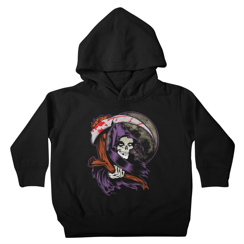 Reaper will Reap! Kids Toddler Pullover Hoody by EngineHouse13's Artist Shop