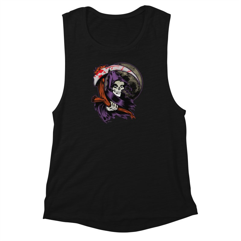 Reaper will Reap! Women's Muscle Tank by EngineHouse13's Artist Shop