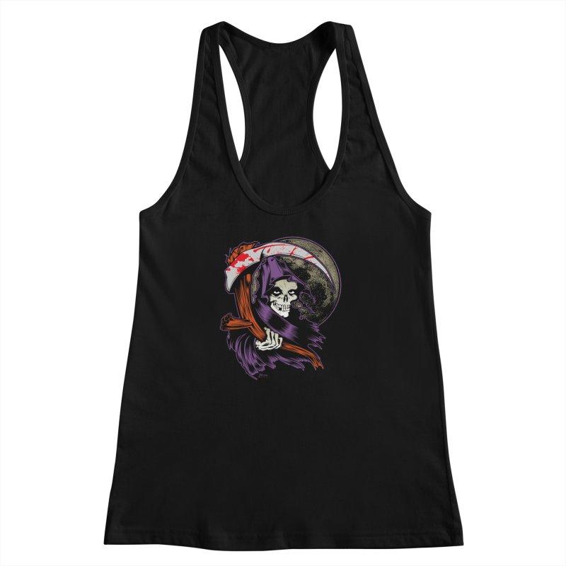 Reaper will Reap! Women's Racerback Tank by EngineHouse13's Artist Shop