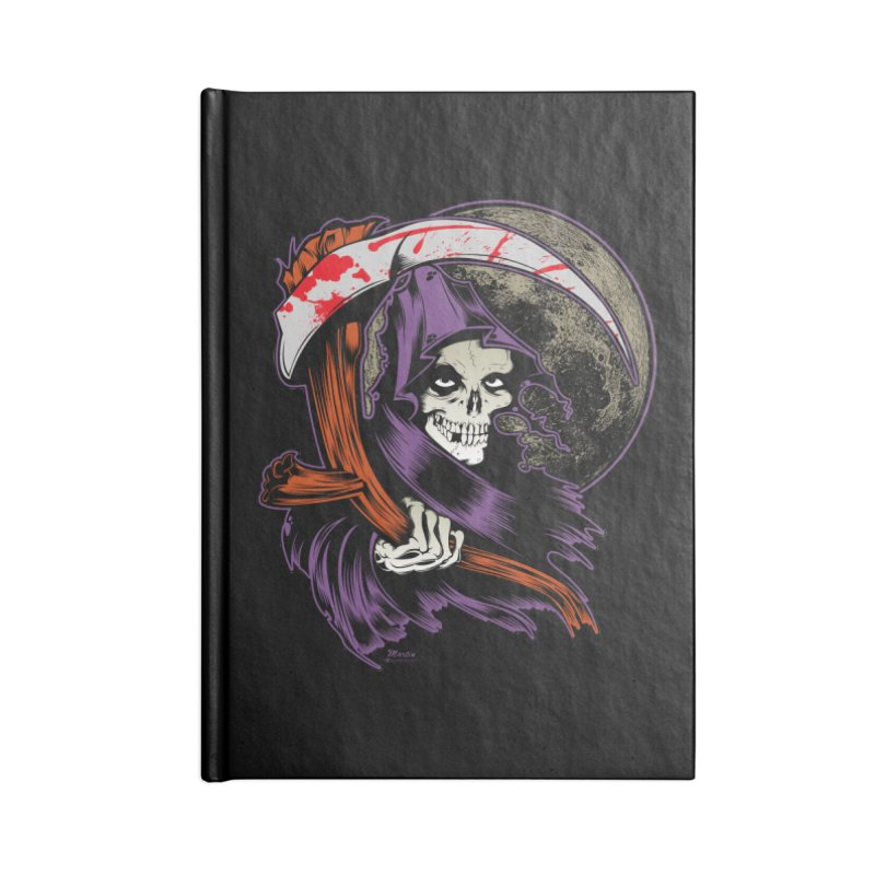 Reaper will Reap! Accessories Notebook by EngineHouse13's Artist Shop