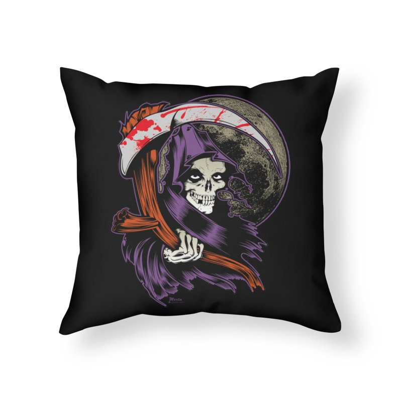 Reaper will Reap! Home Throw Pillow by EngineHouse13's Artist Shop