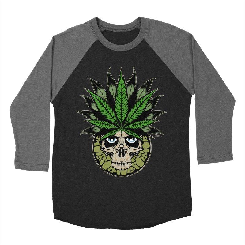 Smokin' Men's Baseball Triblend T-Shirt by EngineHouse13's Artist Shop