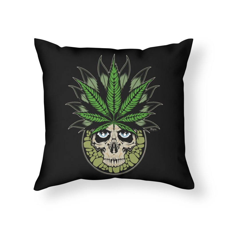 Smokin' Home Throw Pillow by EngineHouse13's Artist Shop