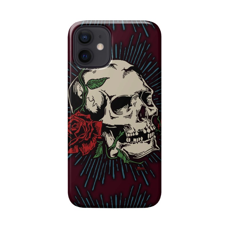 Roses of Death Accessories Phone Case by EngineHouse13's Artist Shop