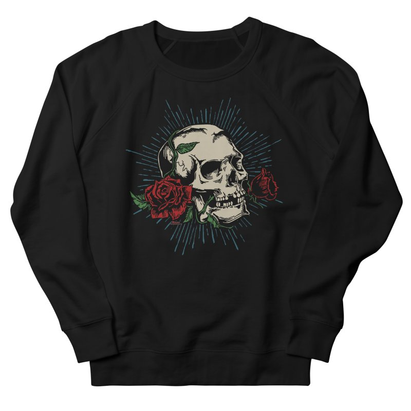 Roses of Death Men's Sweatshirt by EngineHouse13's Artist Shop