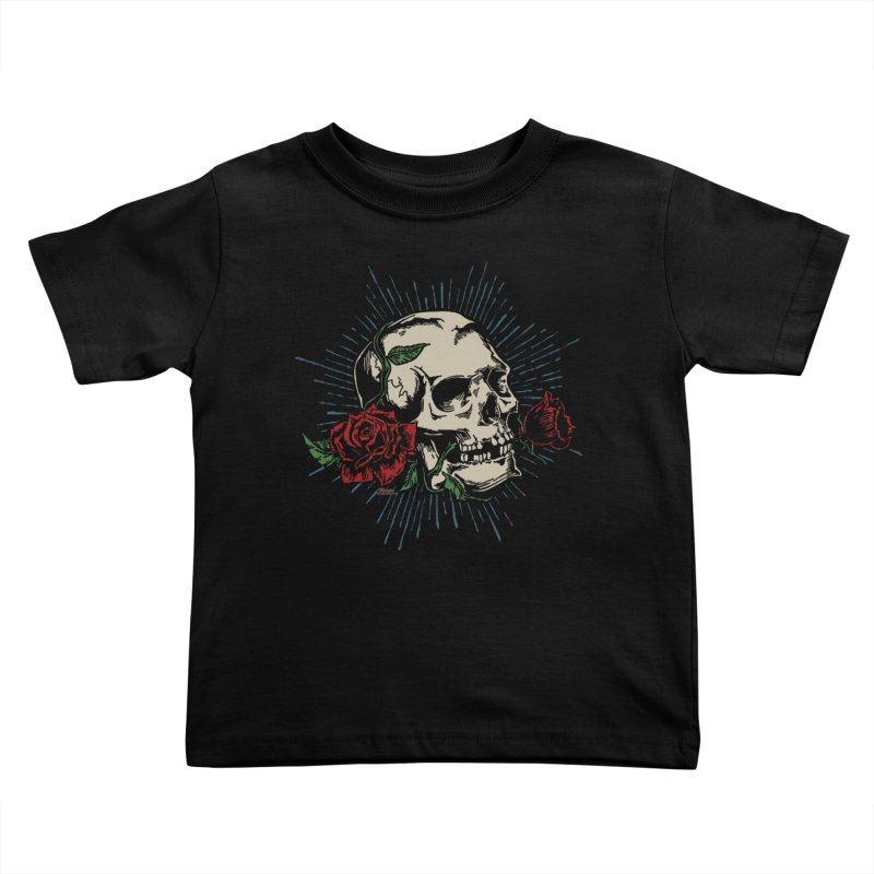 Roses of Death Kids Toddler T-Shirt by EngineHouse13's Artist Shop