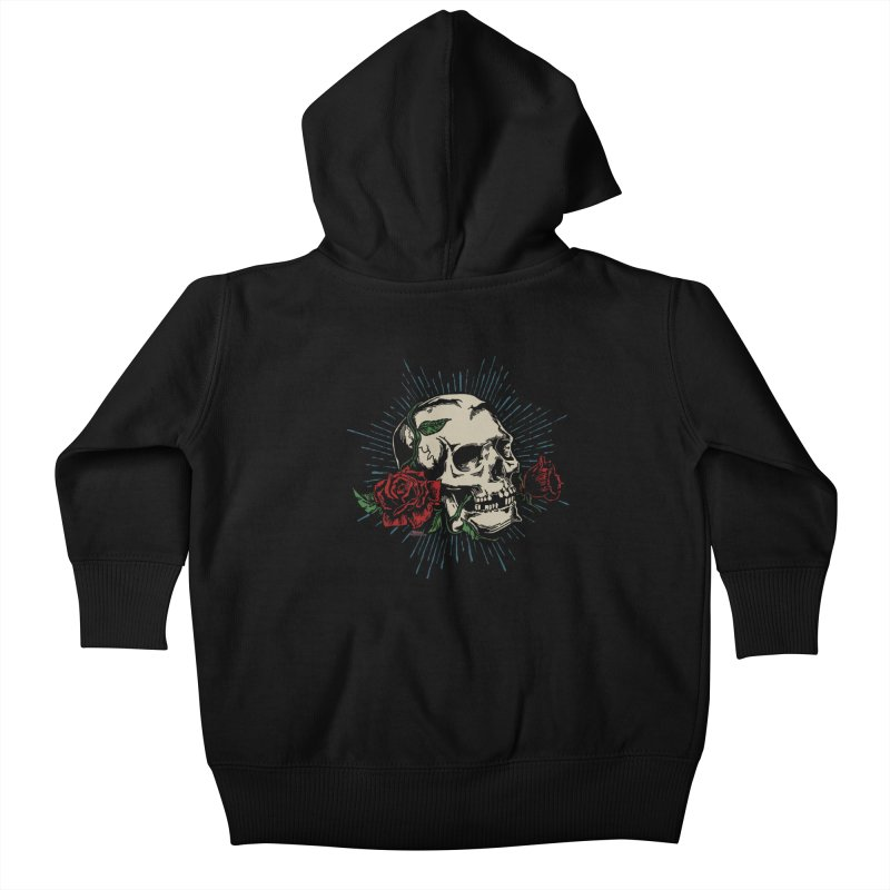 Roses of Death Kids Baby Zip-Up Hoody by EngineHouse13's Artist Shop