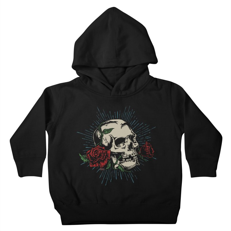 Roses of Death Kids Toddler Pullover Hoody by EngineHouse13's Artist Shop