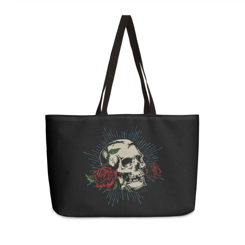 Roses of Death Accessories Bag by EngineHouse13's Artist Shop