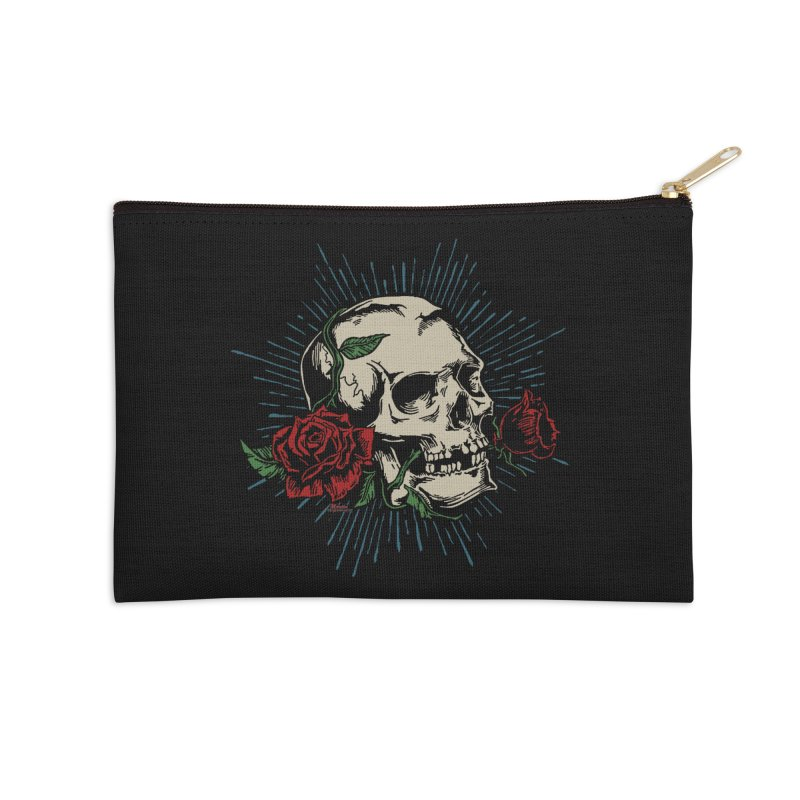 Roses of Death Accessories Zip Pouch by EngineHouse13's Artist Shop