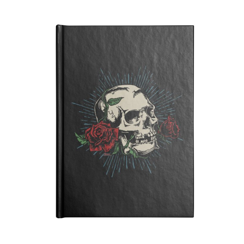 Roses of Death Accessories Notebook by EngineHouse13's Artist Shop