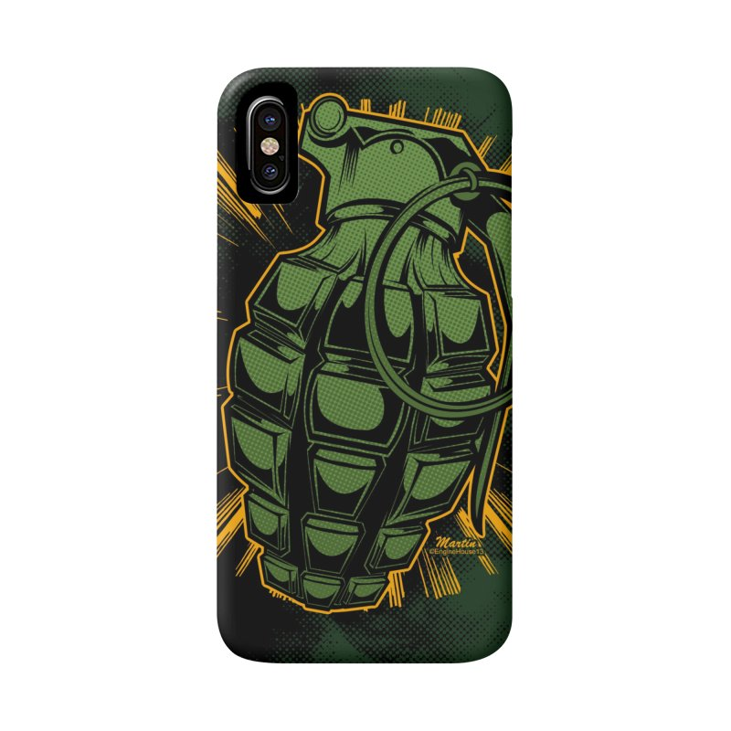 BOOM!!! Accessories Phone Case by EngineHouse13's Artist Shop