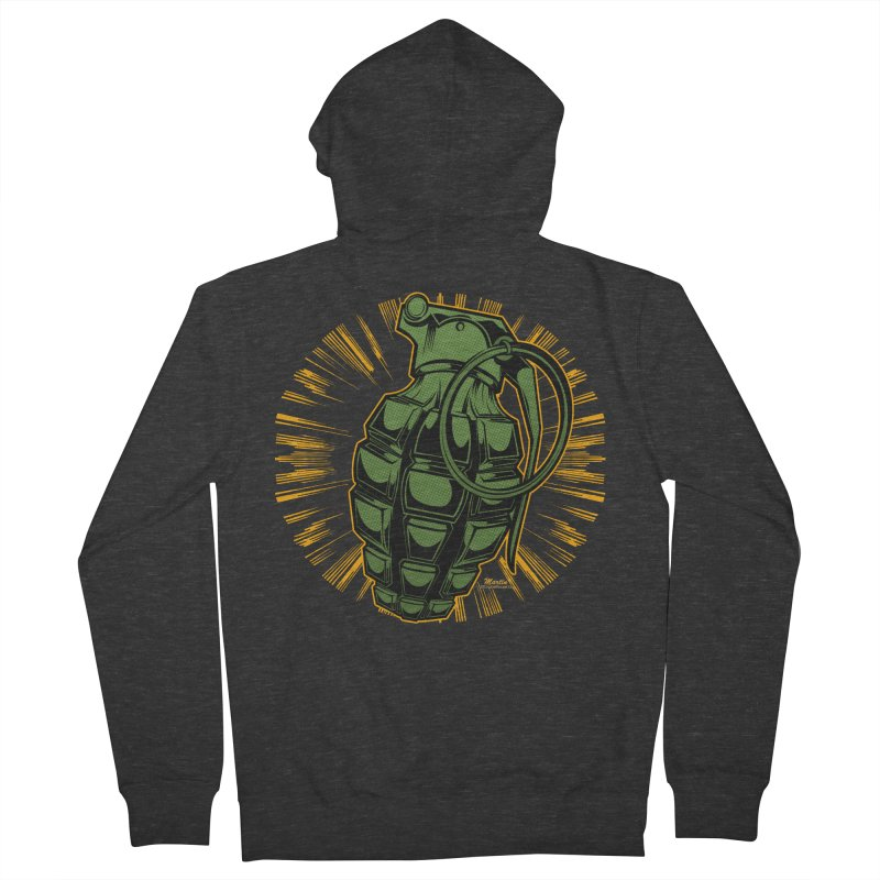 BOOM!!! Women's Zip-Up Hoody by EngineHouse13's Artist Shop