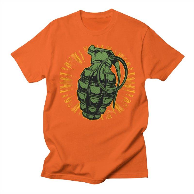 BOOM!!! Men's T-Shirt by EngineHouse13's Artist Shop