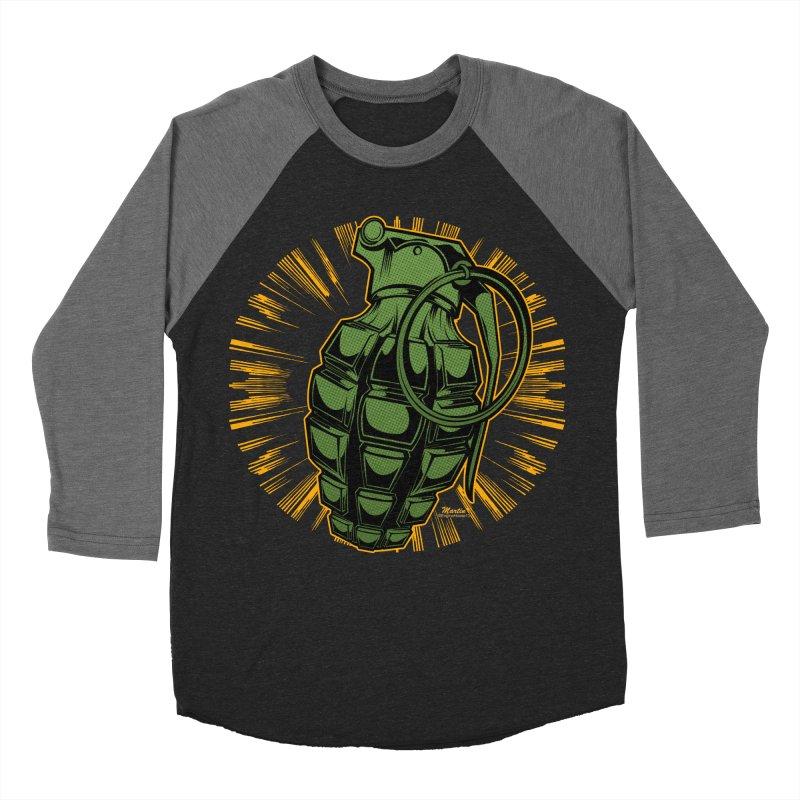 BOOM!!! Women's Baseball Triblend T-Shirt by EngineHouse13's Artist Shop