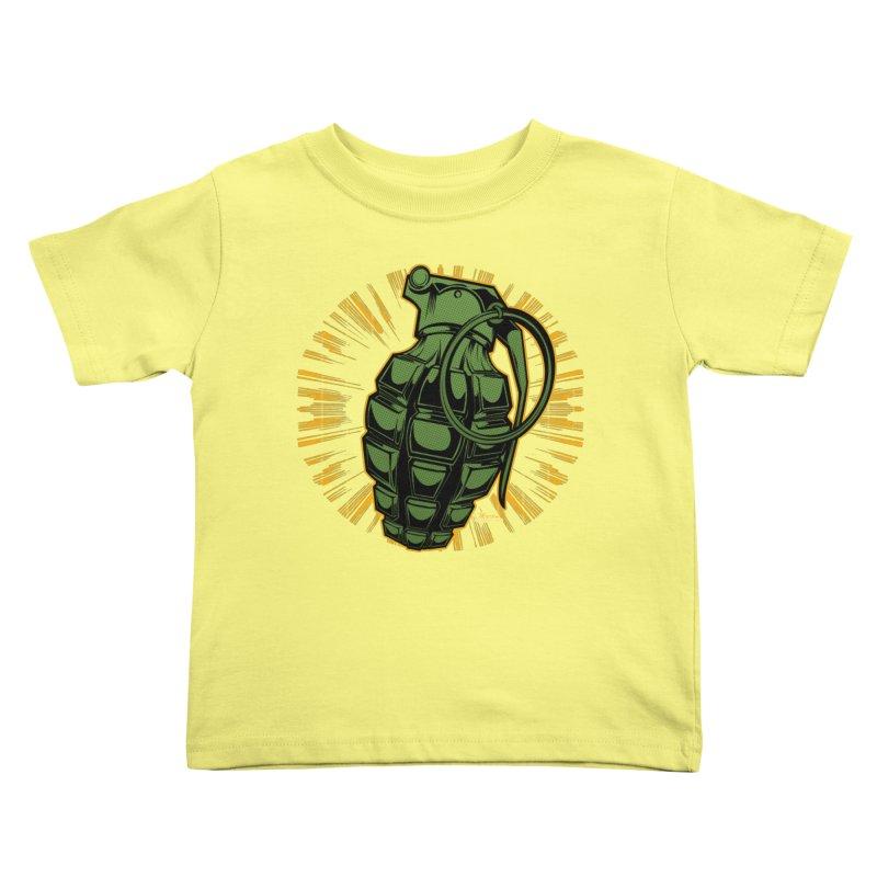 BOOM!!! Kids Toddler T-Shirt by EngineHouse13's Artist Shop