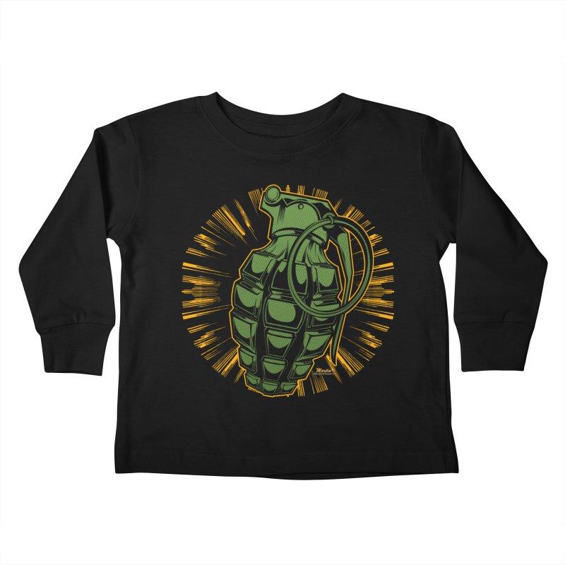 BOOM!!! Kids Toddler Longsleeve T-Shirt by EngineHouse13's Artist Shop
