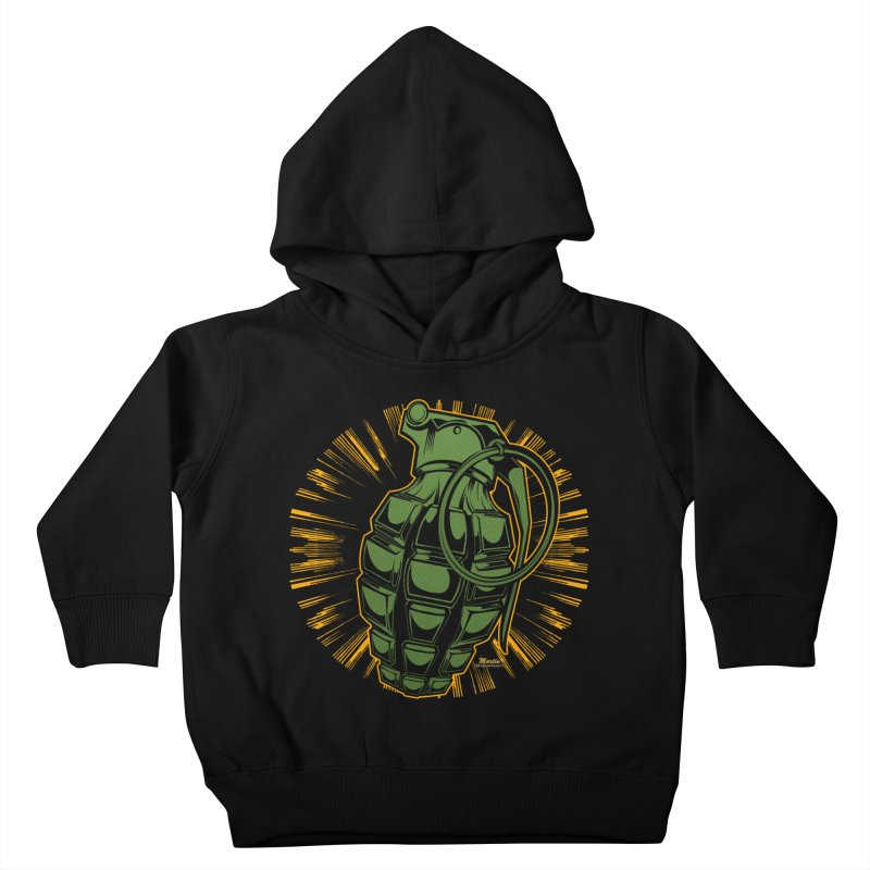 BOOM!!! Kids Toddler Pullover Hoody by EngineHouse13's Artist Shop