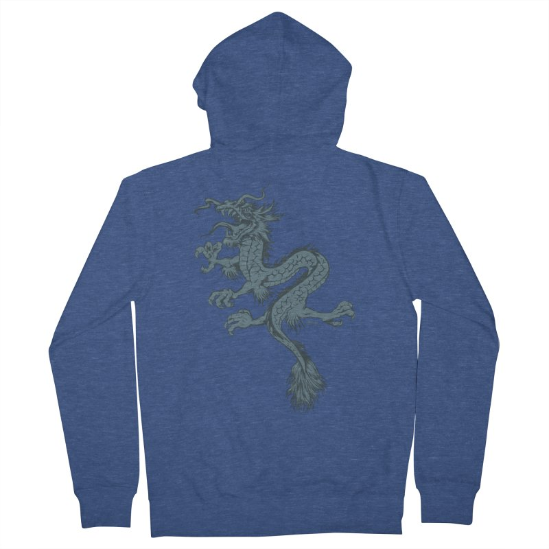 Dragon Women's Zip-Up Hoody by EngineHouse13's Artist Shop