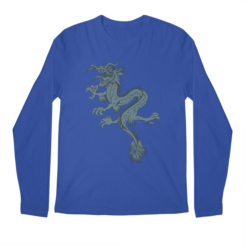 Dragon Men's Longsleeve T-Shirt by EngineHouse13's Artist Shop