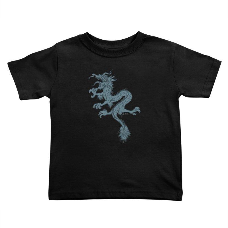 Dragon Kids Toddler T-Shirt by EngineHouse13's Artist Shop