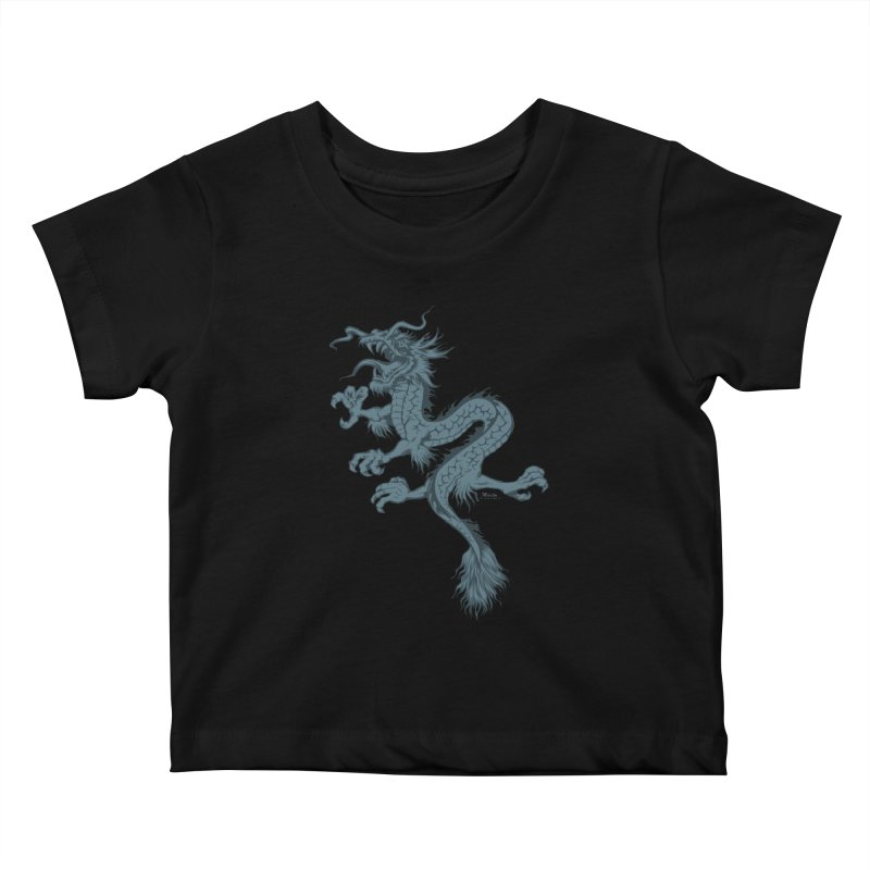 Dragon Kids Baby T-Shirt by EngineHouse13's Artist Shop