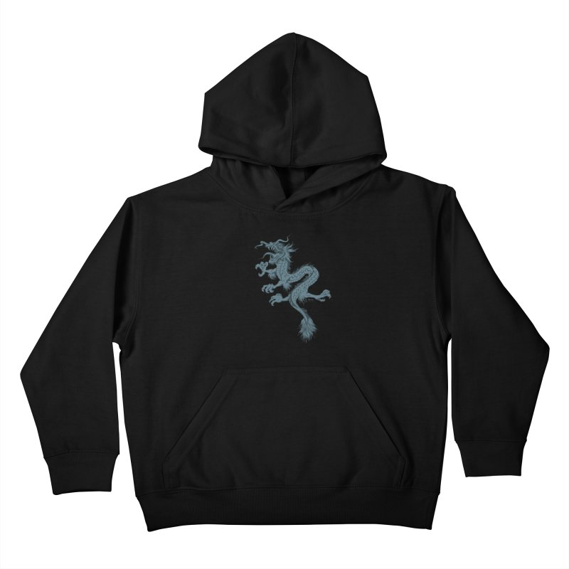 Dragon Kids Pullover Hoody by EngineHouse13's Artist Shop