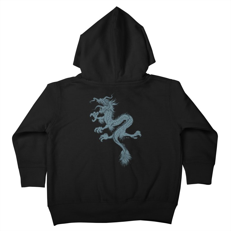 Dragon Kids Toddler Zip-Up Hoody by EngineHouse13's Artist Shop