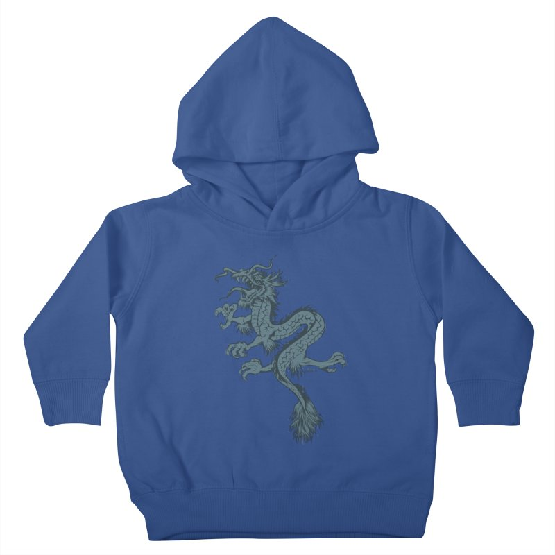 Dragon Kids Toddler Pullover Hoody by EngineHouse13's Artist Shop