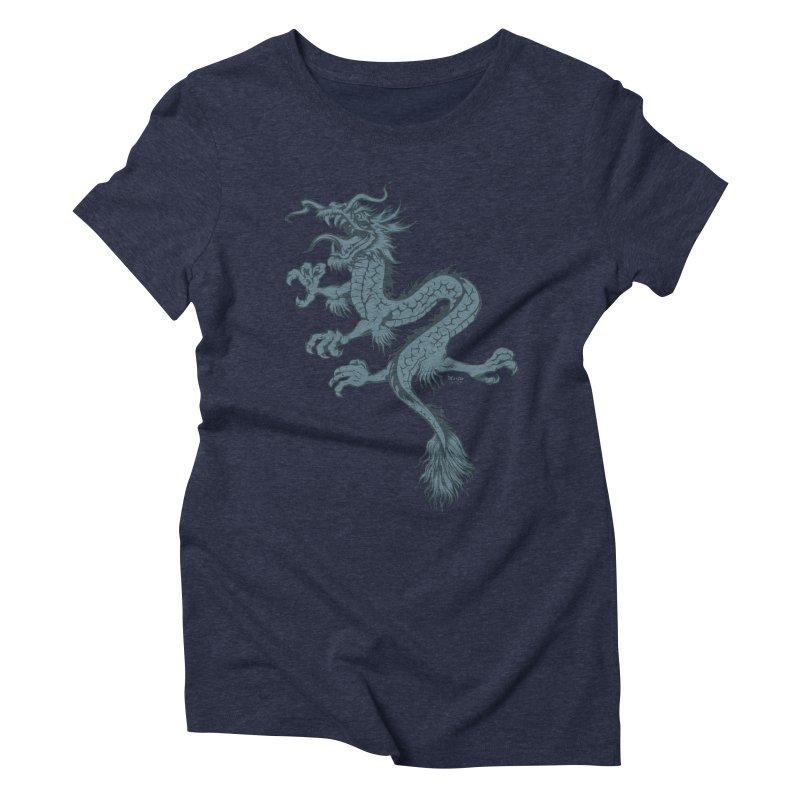 Dragon Women's Triblend T-shirt by EngineHouse13's Artist Shop