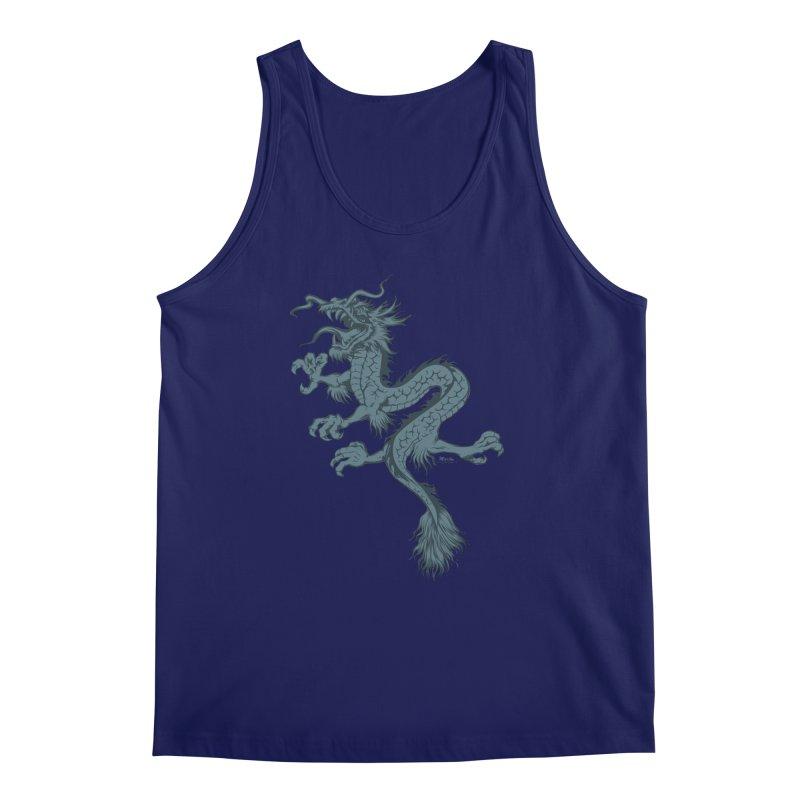 Dragon Men's Tank by EngineHouse13's Artist Shop