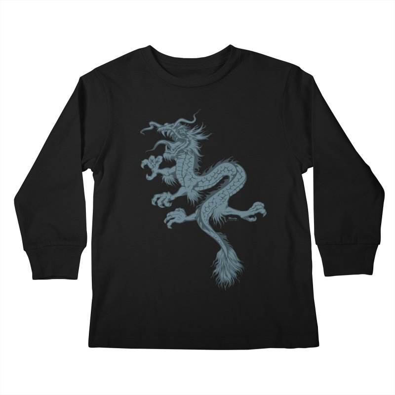 Dragon Kids Longsleeve T-Shirt by EngineHouse13's Artist Shop