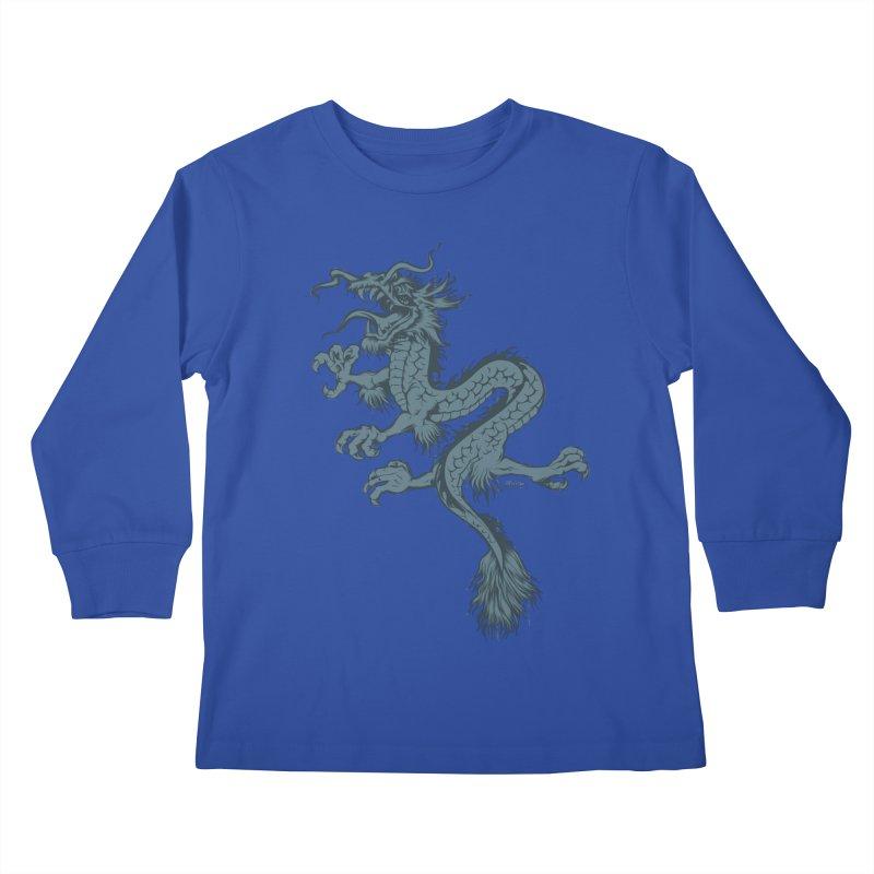 Dragon Kids Longsleeve T-Shirt by EngineHouse13's Artist Shop